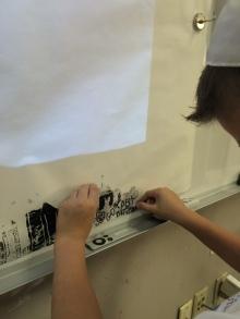 Stamping on our whole class cityscape