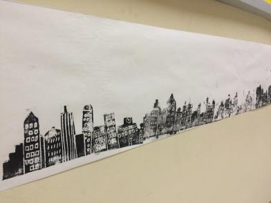Whole class cityscape